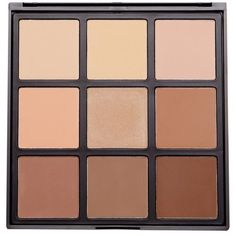 9C 9 COLOR HIGHLIGHT/CONTOUR PALETTE Morphe ($23) ❤ liked on Polyvore featuring beauty products, makeup, face makeup, beauty, accessories, fillers, highlight face makeup, palette makeup, morphe cosmetics and highlight makeup