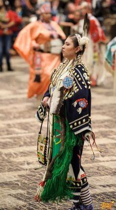Cloth - 2012 Hunting Moon Pow Wow  Jasmine Fiddler, Cheyenne River Lakota