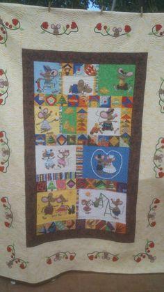 73daf3476 16 imágenes más inspiradoras de quilt de ratones