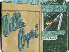 Villa Capri Hotel, Coronado, CA.