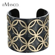 ⏰COMING SOON⏱ Beautiful design 14K gold plated black acrylic open cuff bangle bracelet. NO TRADES ❌QUESTIONS FROM NON SERIOUS BUYERS DO NOT BUNDLE UNLESS YOU INTEND TO BUY ✂️DO NOT LOWBALL ⛔️NO PRICE COMMENTS ⁉️PRICE IS FIRM AND REFLECTED ON FEES AND COST Boutique Jewelry Bracelets