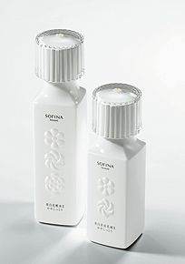 Sofina Beaute packaging with emboss.
