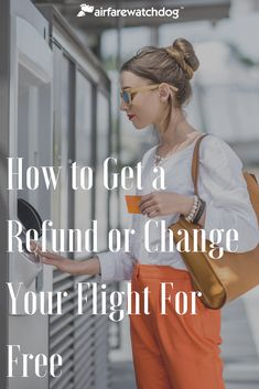 Travel Hacks: How to Get Refunds & Change Flights For Free Travel Tips Travel Guide Budget Travel Travel Hacks, Budget Travel, Travel Tips, Travel Fund, Free Travel, Traveling By Yourself, How To Get, Travel Advice