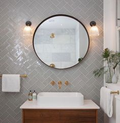 Bathroom Lighting, rated, supplied and beautifully created by Fritz Fryer Lighting Upstairs Bathrooms, Small Bathroom, Glass Bathroom, Bathroom Vanities, Neptune Bathroom, Houzz Bathroom, Bad Inspiration, Bathroom Inspiration, Bathroom Inspo