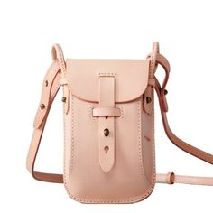 Join me on Fancy! Discover amazing stuff, collect the things you love, buy it all in one place. Mini Crossbody Bag, Leather Crossbody, Leather Handbags, Leather Backpack, Men's Leather, Custom Leather, Leather Tooling, Leather Bag Design, Bike Bag