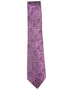 Countess Mara Men's Howard Paisley Tie - Pink
