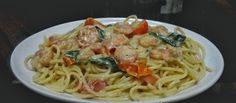 My Cooking Experiment Basil Pasta, Experiment, Shrimp, Spaghetti, Cooking, Ethnic Recipes, Food, Kitchen, Essen