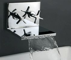 waterfall faucet   www.faucetx.com