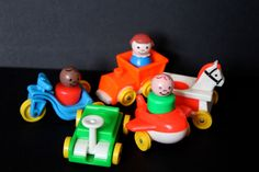 1970's Fisher Price Little Riders #656 by SmilingMemories on Etsy