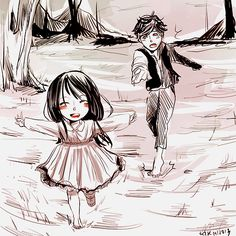 Little Will & Little Cecily <3
