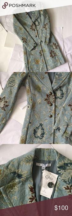 Spotted while shopping on Poshmark: Cabi Coat! NWT! #poshmark #fashion #shopping #style #CAbi #Jackets & Blazers