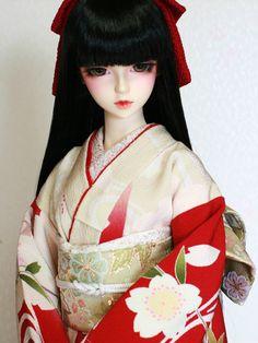 Ayaka's Kimono doll