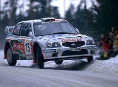 Hyundai Accent WRC rally car
