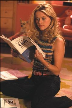 Reese Witherspoon as Elle Woods, duh