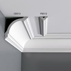 Cornice Moulding Panel Moulding for Walls and Ceilings 2 m Orac Decor BASIXX Molding Ceiling, Cornice Moulding, Panel Moulding, Moldings And Trim, Faux Crown Moldings, House Ceiling Design, Bedroom False Ceiling Design, Pop Design, Kids Interior