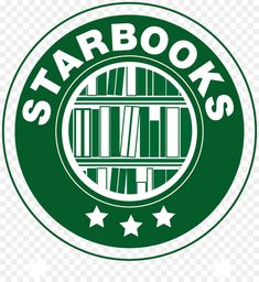 Starbooks logo - Starbucks, books, for bulletin board ? School Library Displays, Middle School Libraries, Library Themes, Class Library, Library Activities, Elementary Library, Library Ideas, Library Logo, Library Decorations