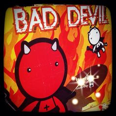 Day 30: my personality ~ some people say I'm a devil inside #photoadayMay #devil