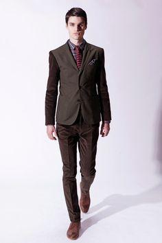 Bespoken Fall 2013 Menswear Collection Slideshow on Style.com - Ben Lark