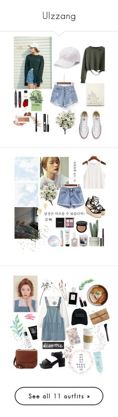 """Ulzzang"" by soojinchoi ❤ liked on Polyvore featuring WithChic, Converse, TONYMOLY, Innisfree, Forever 21, adidas, Maison La Bougie, FOSSIL, Gorjana and philosophy"