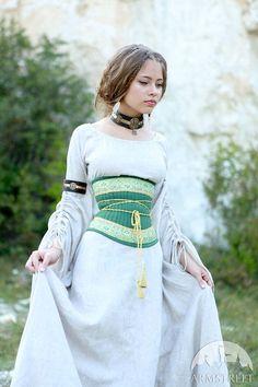 Ceinture-Corset lingerie médiévale Renaissance « Maîtresse…