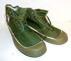 """Original Chinese Type 65 """"Liberation"""" Boots - Vietnam NVA style"""
