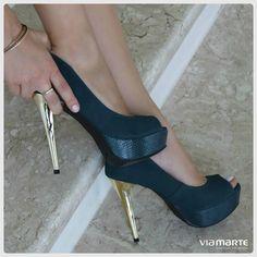 5e0126c4ed peep toe - high heels - party shoes - colors - verde oliva - petróleo -