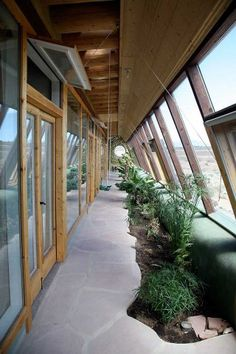 Global Model G2 Earthship, I find the growing beds in here neat.