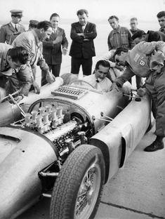 Alberto Ascari. Lancia D50
