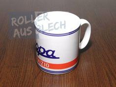 Kaffeebecher Coffee Cup Vespa Servizio#rollerausblech #vespa