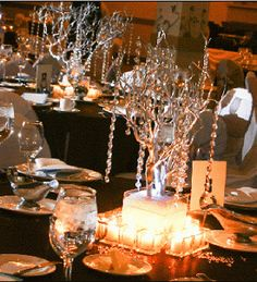Your Wedding Support: GET THE LOOK - Crystal Themed Wedding (Diamonds are forever)