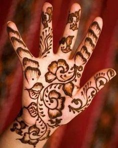 Mehendi Designs For Hands Arabic Designs Photos Images Hand Pics For Legs Free Download 2013: Cute Henna Designs (1)