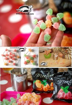 Christmas jelly bean crafts
