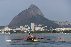 Team GB rowing through Rio