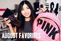 My August Favorites is up! MHM thats right...Now, I am trying my best to have 2 vids up every week :P   http://youtu.be/rMW93Xmpw-A   Love you all<3