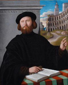 """Domenico Capriolo, """"Portrait of Lelio Torelli"""""""