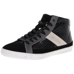 High Top Leather Alligator Trainers 11 UK/ 45 EU From Ace Collection