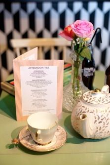 Drink, Shop & Do — Bookings Afternoon Tea