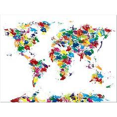 *Дизайн и декор* - Карты мира