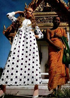 Givenchy L'Officiel magazine 1970s