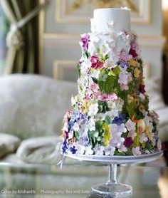 Breathtaking Wedding Cakes from Cakes by Krishanthi Part I