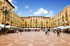 Plaza Mayor, Mallorca when we went it was busy I loved it there great but quite expensive.