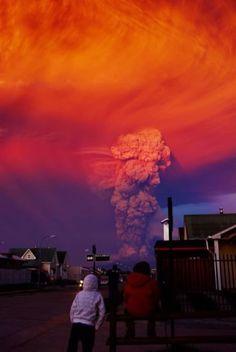 La spettacolare eruzione del Calbuco
