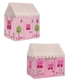 Two-in-One Playhouse: Enchanted Garden & Fairy Woodland by Kiddiewinkles on #zulily