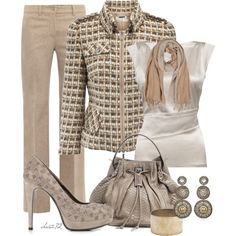 A fashion look from December 2012 featuring Etro blouses, Karen Millen jackets and MaxMara pants. Browse and shop related looks.