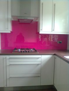 Kitchen Splashbacks made to order in a range of colours and sizes. Glass And Aluminium, Aluminium Windows, Bespoke Design, Kitchen Cabinets, Range, Colours, Home Decor, Custom Design, Cookers