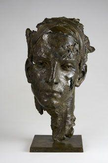 Christophe Charbonnel Prométhée Human Sculpture, Sculpture Head, Sculptures Céramiques, Modern Sculpture, Lion Sculpture, Interesting Faces, Art Object, Three Dimensional, Art Forms