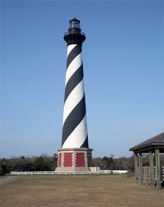 My favorite lighthouse, Cape Hattaras. Rob and I plan to vacation on the Outer Banks some day:)