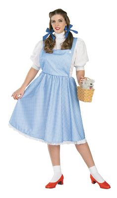 Dorothy Adult Plus Size Costume #adult wizard of oz costumes #adult dorothy costume #wizard of oz costume