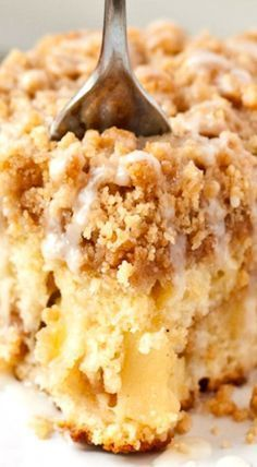 Apple Crumb Coffee Cake Uses Sour Cream I May Substitute Buttermilk Coffee Cake Recipes Crumb Coffee Cakes Apple Coffee Cakes