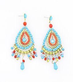 Painted Desert Chandelier Earrings – La De Da Too